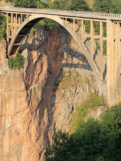 Tara River Bridge - Main span