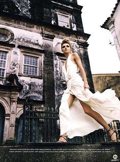 Valentina Zeliaeva   Harper's Bazaar UK June 2007