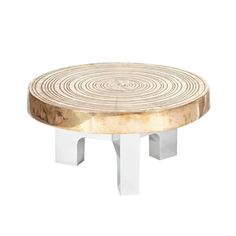 'Goutte d'Eau' Side Table by Ado Chale Signed on the Edge, circa 1990   1stdibs.com
