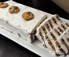 Chocolate Chip Icebox Cake