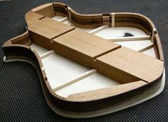 Semi-hollow body Internal Chambers | Myka Guitars