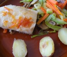 Bacalao con verduras al vapor by crous on www.recetario.es