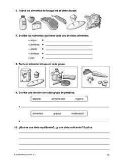 Evaluaciones conocimiento del medio 4º Elementary Physical Education, Nutrition, Science And Nature, Classroom Organization, Biology, 3 D, Homeschool, Teaching, Spanish Activities