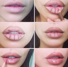 Lip Makeup ..