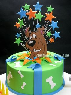 Scooby Doo Cake by Creative Cakes by Julie, via Flickr