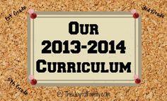 2013-2014 Homeschool Curriculum