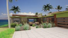 Contemporary House Plan with 1335 Square Feet and 3 Bedrooms from Dream Home Source | House Plan Code DHSW076088