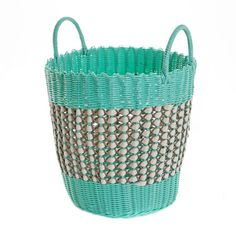 Combining statement style, superior craftsmanship and a unique aesthetic, Carolyn Donnelly's eclectic homeware collection is the perfect fusion of form, function and design. Storage Baskets, Designers, Mint, Fabric, Home Decor, Style, Tejido, Swag, Tela