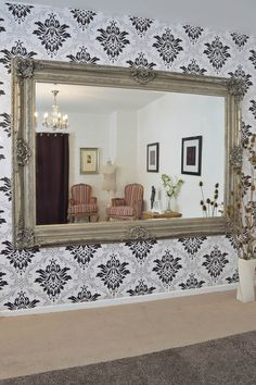 Grand Ornate Style Wall Mirror will be the perfect piece to add classic style to any room in the house. Click 'Visit Site' for a closer look!