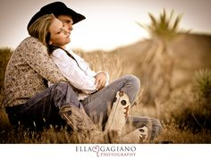 Ella Gagiano Photography  engagement photos las vegas cowboy