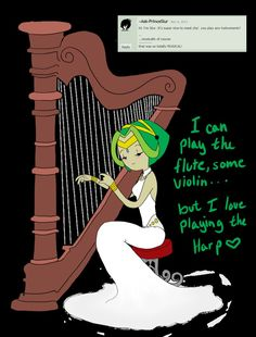 Harp by Ask-Princess-Lily / deviantART