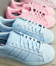 adidas, fashion, pink&blue