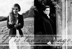 Fred/Hermione graphic, theme of Pride and Prejudice. dunno why, really, I just was rummaging through various images and found this one of James which . Too Long Ago - Fremione James Potter, Harry Potter Fan Art, Harry Potter Characters, Fred And Hermione, Hermione Granger, Oliver Phelps, Dramione, Book Worms, Fanfiction