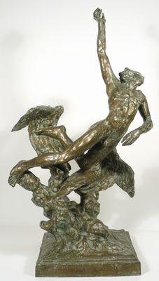 Jan Štursa, Ikaros, bronz, limitovaná série, v. 75 cm