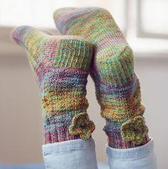 Ravelry: Primrose Path Socks pattern by Jane Howorth