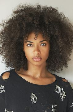"""crystal-black-babes: """"Curly Hairstyles For Girl: Susan - Curly Hair For Women Galleries:  Susan 