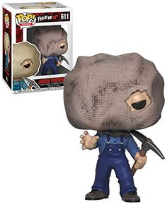 Movies Friday The Jason Voorhees (With Bag Mask) - New, Mint Condition - Funko Horror Pop Vinyl, Funko Pop Horror, Funko Pop Toys, Funko Pop Vinyl, Best Funko Pop, Batman Figures, Action Figures, Funko Figures, Pop Figurine