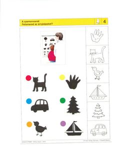 visuele discriminatie voor kleuters / preschool visual discrimination Logic Games, Preschool Worksheets, Critical Thinking, School Supplies, Children, Kids, Kindergarten, Math, Learning