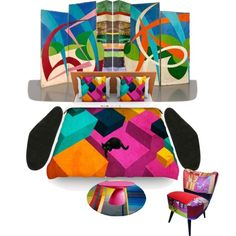 Colors in Fashion by alvufashionstyle on Polyvore featuring interior, interiors, interior design, Casa, home decor, interior decorating and nanimarquina