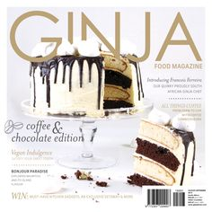GINJA Food Magazine Aug Sep '15 Edition - Preview. Purchase your digital or print subscription from www.ginjafood.com or subscriptions@ginjamedia.com Sep 15, Must Have Kitchen Gadgets, Chocolate Coffee, Vanilla Cake, Asda, Vegan, Lifestyle, Magazine Covers, Cooking