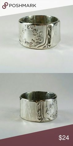 Silver Plated Knife handle ring Silver Plated Knife handle ring Spoon Me Baby Designs  Jewelry Rings
