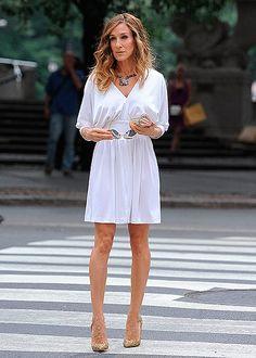 La evolución de los 'looks' de su personaje Carrie Bradshaw en la serie 'Sexo en Nueva York'
