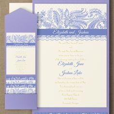 Lace Artistry - Pocket Invitation