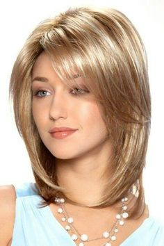 Best Womens Hairstyles For Fine Hair – HerHairdos Haircut Styles For Women, Short Haircut Styles, Short Hairstyles For Women, Hairstyles With Bangs, Cool Hairstyles, Woman Hairstyles, Medium Hair Cuts, Medium Hair Styles, Long Hair Styles