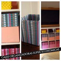 Creando con Lily : Haz tus cajas organizadoras, decorativas y económi...