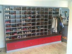 High Resolution Garage Shoe Storage Ideas #1 Garage Shoe Storage Ideas