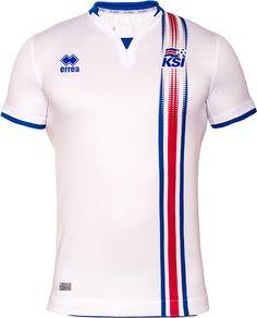 Iceland 2016 Euro Errea Away Shirts