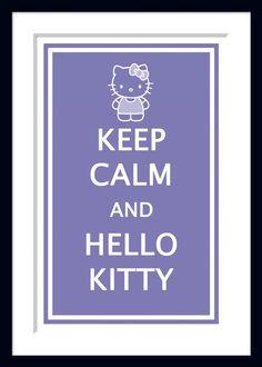 Hello Kitty Poster on Etsy #hellokitty #etsy