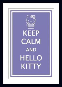 Hello Kitty Poster on Etsy #hellokitty #etsy