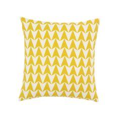 Aldgate East Major Mustard Cushion 50x50cm