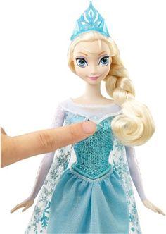 Amazon.com: Disney Frozen Singing Elsa Doll: Toys & Games