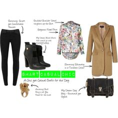 """""""Smart Casual & Chic"""" by mandsandthensome on Polyvore"""