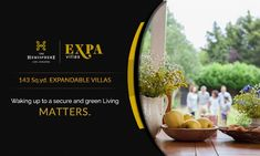 THE HEMISPHERE PRESENTS EXPA VILLA Immerse yourself in #luxury #lifestyle .  Be part of #Expa_Villas , located in the most premium part #Greater_Noida near #PariChowk , just opposite to #metro_station.