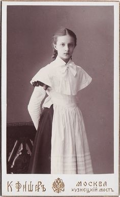 (via Gymnasium Girls At the Turn of the Century - English Russia)