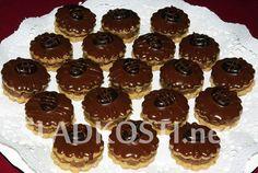Kávové dortíčky s polevou