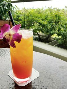 """Island sunset"" crafted with caramelized pineapple, orange juice, mango puree, grenadine. #Waiolu #TrumpWaikiki #Waikiki #Hawaii #Island #Sunset #Tropical #Drink #Delicious  Trump International Hotel Waikiki Beach Walk - Google+"
