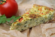 Zucchini Tarte, Zucchini Quiche, Soul Food, Food And Drink, Veggies, Keto, Cooking, Breakfast, Cakes