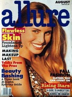 ALLURE - N°8 - August 1994 - Niki Taylor