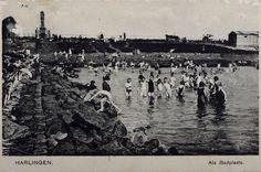 Pootje baden bij het Vlooienbadje bij de Westerzeedijk
