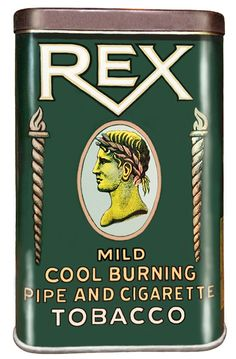 Pocket Tobacco Tin - Rex