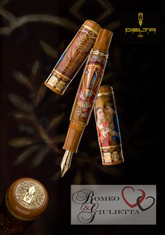 Delta Romeo and Juliet Fountain Pen.