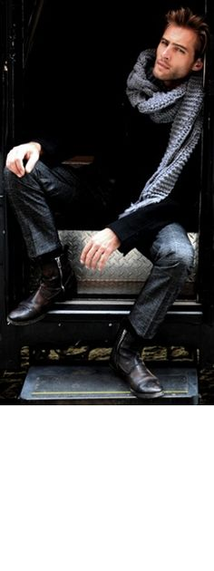 Cool look.  #men #fashion