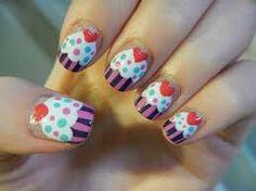 Cupcake nails! Sweet
