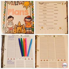 FREE: Summer Planning. DIY Planner Pages included! Stay organized this summer!