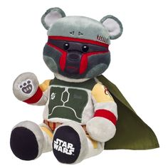 You Can Build A Boba Fett Bear At Build-A-Bear Right Now