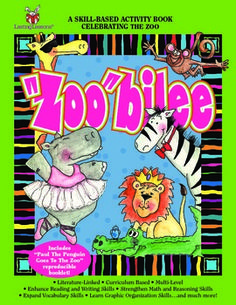 "Barker Creek - ""Zoo""bilee Activity Book (scheduled via http://www.tailwindapp.com?utm_source=pinterest&utm_medium=twpin&utm_content=post10701752&utm_campaign=scheduler_attribution)"